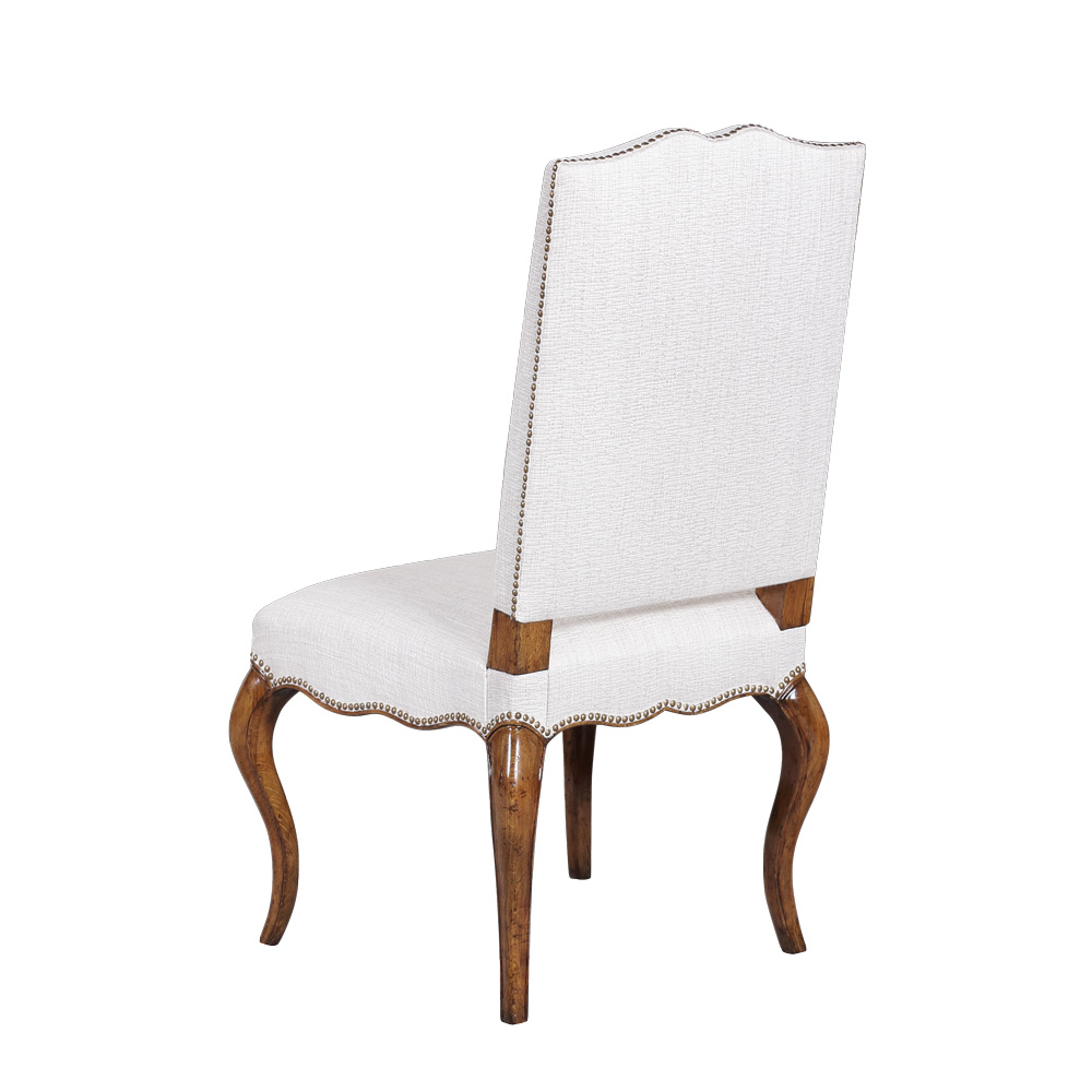 french side chair oak distressed chic by janssen